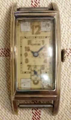Vintage Empire Gold Filled Curvex Art Deco Manual Wind Watch. Collector!!
