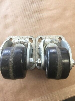 Lot Of 2 Albion R3 L3 Albion 16 Wheel Swivel Wheel