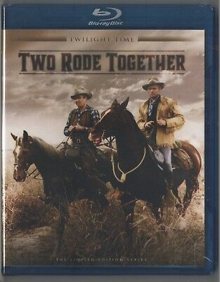Two rode together (1961) LIMITED TWILIGHT TIME BLU RAY SEALED