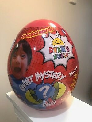 Ryan's World Red Giant Mystery Egg Toy Target Exclusive Rare Hot Surprise Toys