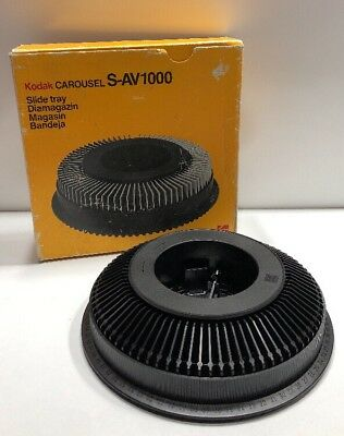 Kodak Carousel Slide Tray/Cartridge - S-AV1000 - In Original Box Ex-Condition