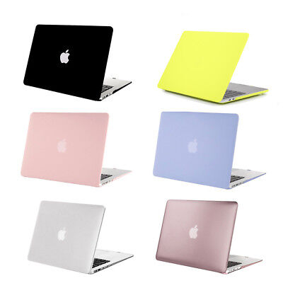 """Laptop Matte Shell Cover Case for Apple Macbook Pro 11""""12""""13""""15 inch  2012 -2017"""
