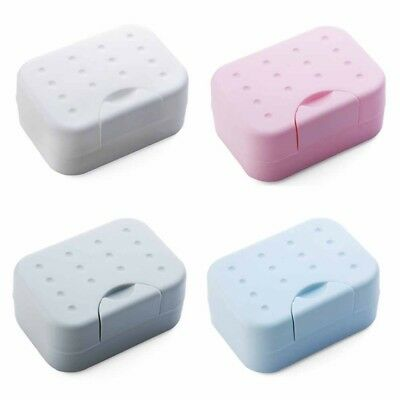 New Home Shower Bathroom Dish Plate Case Travel Hiking Holder Container Soap Box