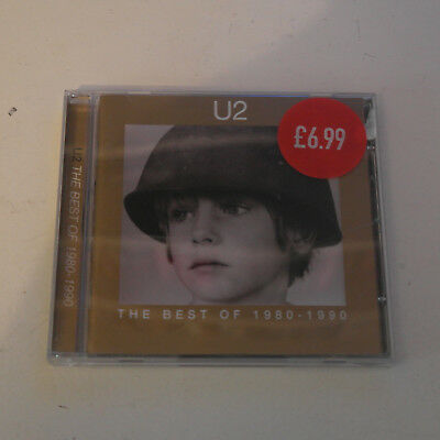 CD Album U2 - Best of 1980-1990 (1998)