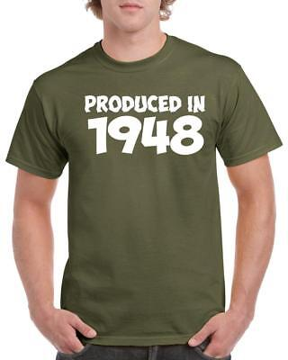 21st 30th 40th 50th 60th 70th 80th Funny Birthday Gift T-Shirt Produced In Top