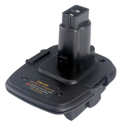 Battery Adapter for Dewalt DM18D Converter Compatible with Milwaukee Battery