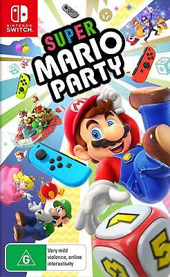 Super Mario Party Nintendo Switch - Pre-Order - Delivered on October 5th NEW