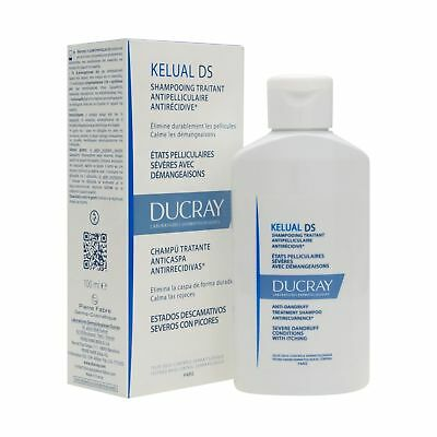 Ducray Kelual Ds Shampoo For Serious Exfoliating Statements 100Ml