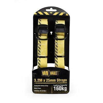 Van Vault S10679 3.2 m x 25 mm Endless Strap Pair