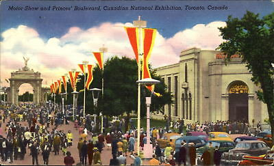 Canadian National Exhibition Toronto Canada vintage cars Aircraft Show ~ 1940s