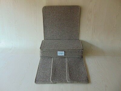 14 Stair Carpet Pads/Treads/Mats 50cm x 20cm and 1 Mat at 76 cm X 46 cm #2951-5