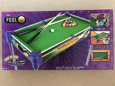 KIDS POOL TABLE X Unique Item Brand New Never Opened - Brand new pool table