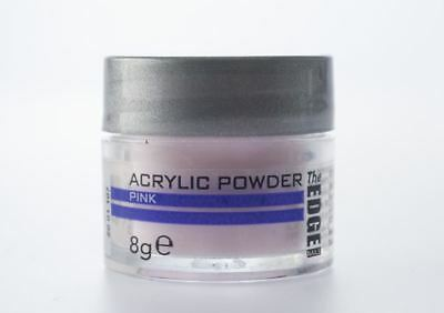 The Edge Acrylic Powder Pink - 8g -***BEST OFFER UK ONLY***