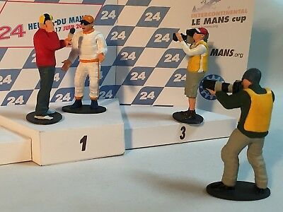 Scalextric Figures New High Detail Resin 3d Printed models 1:32 .