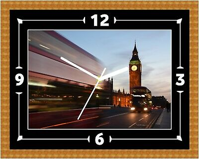 Big Ben London Time Lapse Clock Present Christmas Birthday (Can Be Personalised)