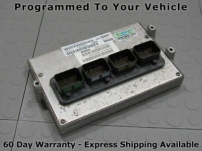 05 DODGE RAM 1500 5 7L AT ECU ECM PCM Engine Computer 958 56028958AD PROG S