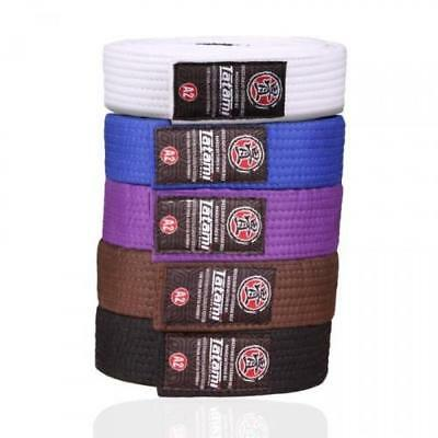 Tatami BJJ Belt Jiu Jitsu White Blue Purple Brown Black A0 A1 A2 A3 A4 Adults Gi