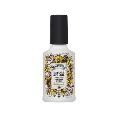 Poo-Pourri Before You Go Toilet Spray 118ml/4oz Original Citrus Brand New