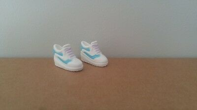 Barbie Doll Blue and White Sneakers Runners Shoes