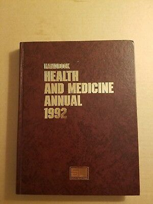 Handbook  Health and Medicine Annual 1992 Hardcover by The Southwestern Company