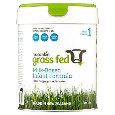 Munchkin Grass Fed Milk-Based Infant Formula Stage 1 730g Online Only