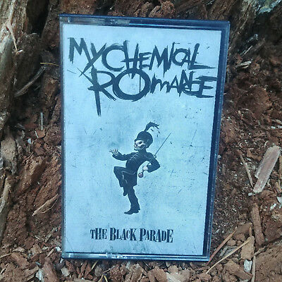 My Chemical Romance The Black Parade Cassette Tape Reprise 44427-4 Rare Vintage