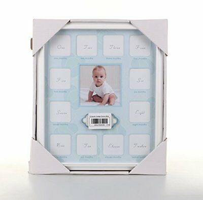 Collage Photo Frame for Baby First Year Keepsake - 12 Months Picture Frames for