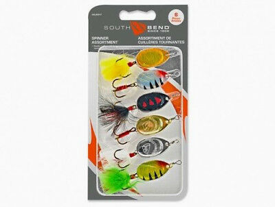 South Bend 6 Piece Lunker Spinner Kit Model # SBSPIN3