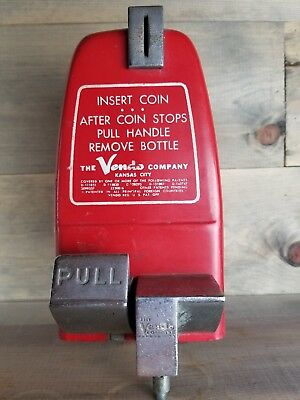 VINTAGE- COCA-COLA / VENDO COIN CHANGER WESTINGHOUSE model 59 sign as is parts