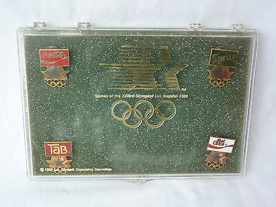 Coca-Cola Pin Set 1984 Olympische Spiele Los Angeles Olympiad olympic Games