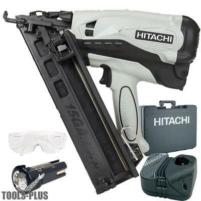 Hitachi NT65GAPR 15-Gauge 2-1/2 in. Cordless Li-Ion Angle Finish Nailer New