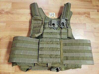 Eagle Industries Plate Carrier LARGE MOLLE Coyote LE Duty