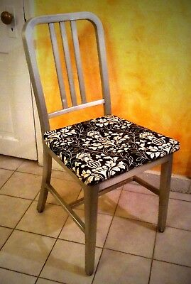 Set of 4 VINTAGE GoodForm | Aluminum Side Chairs 1930s Good condition for dining