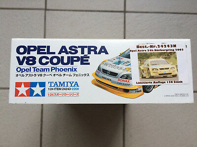 TAMIYA Opel Astra V8 Coupe DTM '01 Phoenix  Sieger 24 h Rennen Nürburgring Decal