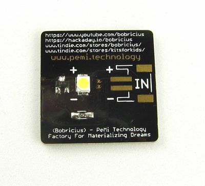 New original Joule Thief - start 0.45V, Toroid Style PCB Inductor