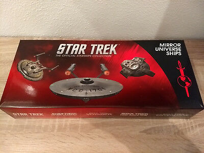 Eaglemoss Star Trek Mirror ISS Enterprise 1701, NX-01 und Defiant Modelle Set