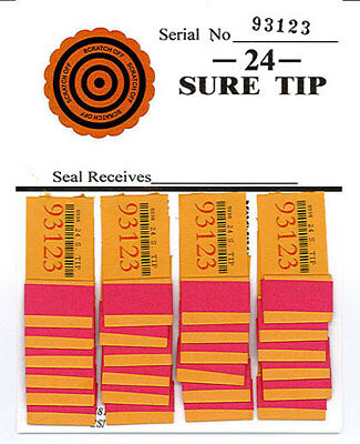 One Dozen # 24 Sure Tip Boards (1-24) Free Shipping   USA MADE IN THE USA