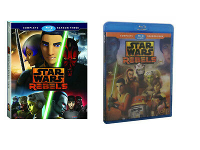 Star Wars Rebels Complete Animated TV Series Seasons 3 & 4 (Blu-Ray) Bundle Sets