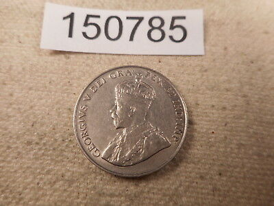 1922 Canada Five Cents Very Nice Collector Grade Unslabbed Album Coin - # 150785