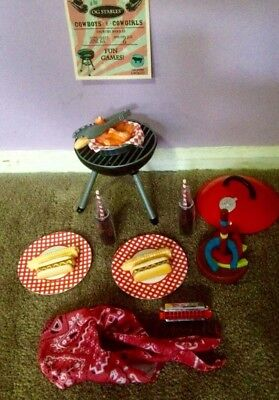 Our Generation Doll Barbecue/BBQ Set - Excellent condition