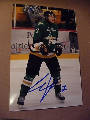Artem Sergeev SIGNED 4x6 photo TEAM RUSSIA / VAL D'OR / TAMPA BAY LIGHTNING #3