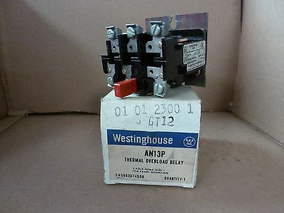 Westinghouse AN13P Thermal Overload Relay