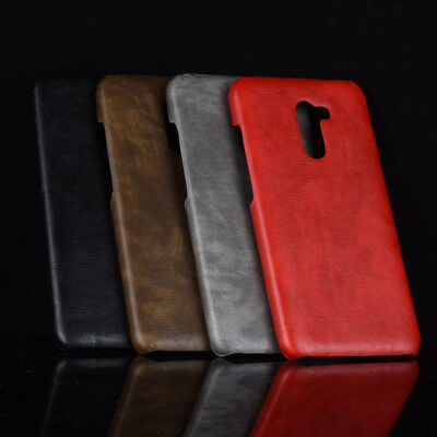 For Xiaomi PocoPhone F1 Slim Leather Soft Rubber Phone Cover Case 4 Colors