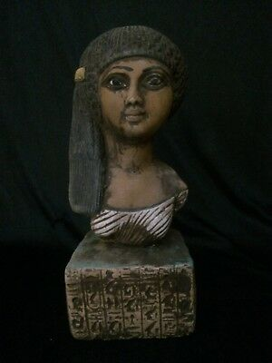 RARE EGYPTIAN ANTIQUITIES QUEEN Meritaten Akhenaten EGYPT STATUE 1356–1309 BC