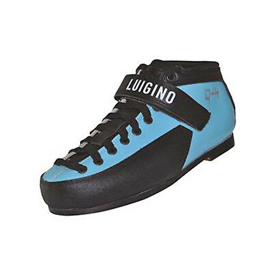 Roller Derby Boots - Blue Luigino Q4 Leather Skate Boots Size 4-12