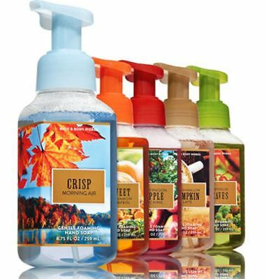 🎃  Bath and Body Works Fall Bucket List Gentle Foaming Hand Soap, 5-Pack 🎃