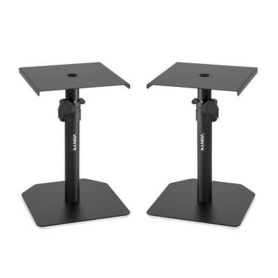 Vonyx 180.219 SMS10 Pair of Studio Monitor Stands