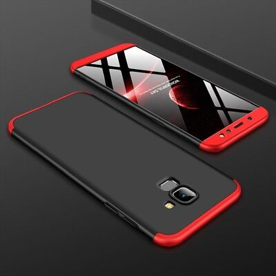 For Samsung Galaxy S9 Note 9 A6 360° Full Protection Hybrid Armor Case Cover D