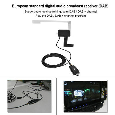 DAB+Digital Radio Tuner USB 2.0Stick for XTRONS Android5.1&6.0 Car DVD Stereo UK