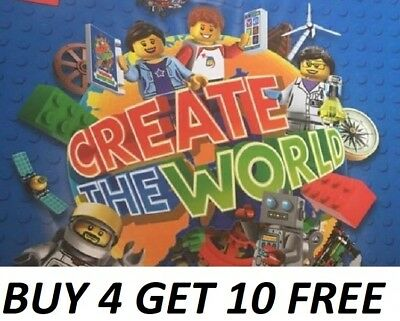 Sainsbury's Lego Cards 2018 Incredible Inventions Buy 4 Get 10 Free + Freepost